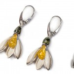 Henryka Silver and Amber jewellery canvas