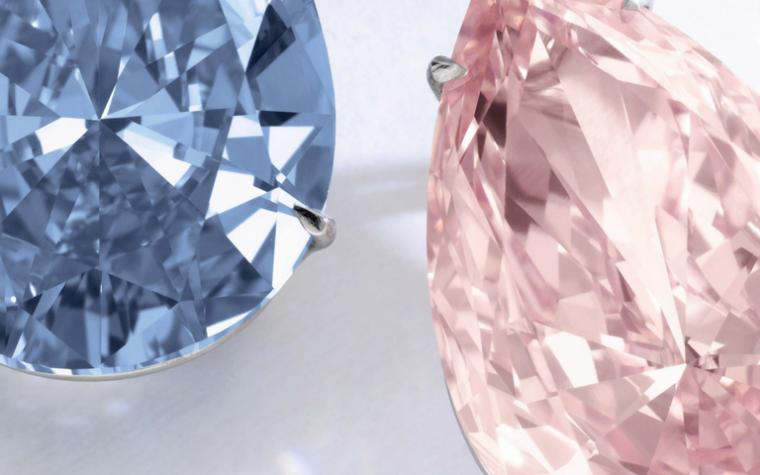 Apollo and Artemis diamonds Sotheby's