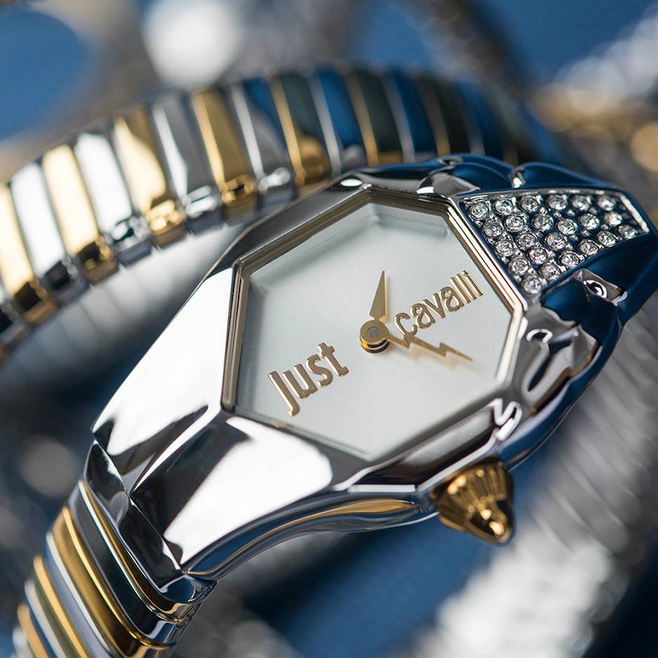 Just Cavalli Glam Chic Bezel Watches