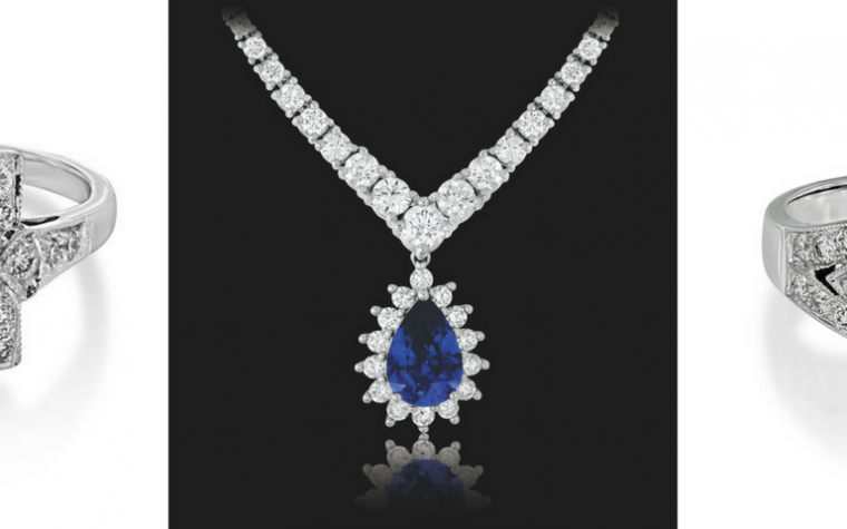 Sunshine Exim IJL 2017 Blog diamonds and sapphire jewellery