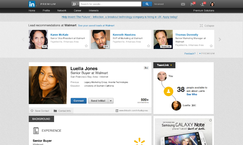 Utilising LinkedIn as a tool for business success by Warren Knight