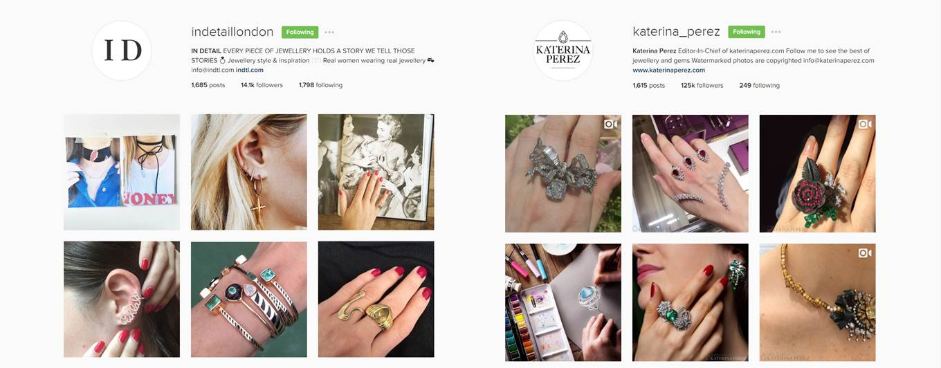 How to find the ideal jewellery influencer on Instagram