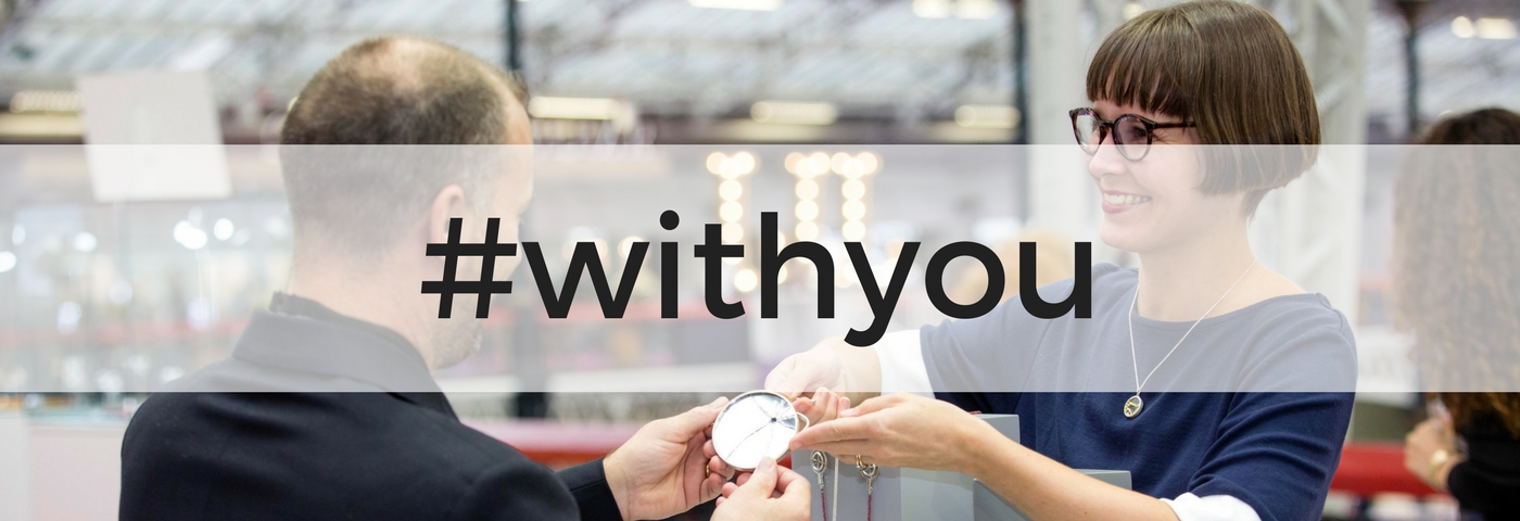 International Jewellery London Launches #withyou Campaign