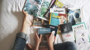 Pexels magazines PR and communications