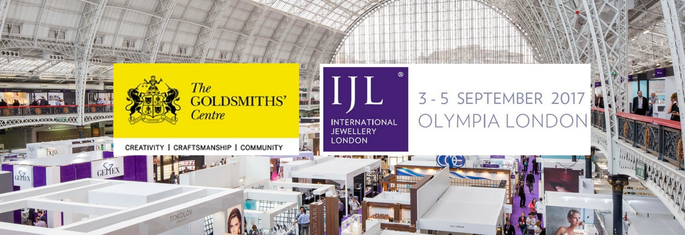 New Designer Support Partnership with the Goldsmith's Centre and IJL 2017 Announced