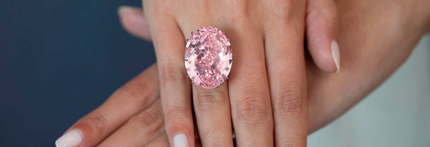 'Pink Star' Diamond Hits Record Breaking Auction Price