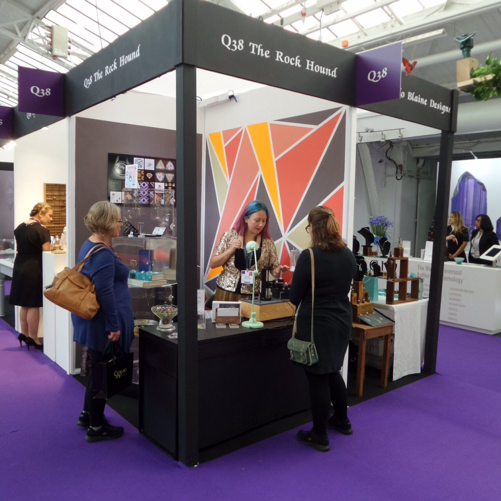 The Rock Hound Stand at IJL 2016