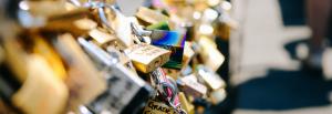 Locks on a bridge - IJL stronger jewellery brand