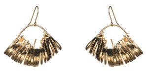 Edie Mini Hoop Drop Earrings Oddical RRP£135