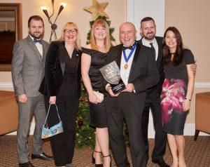 Hockley Mint at the NAJ Awards 2017