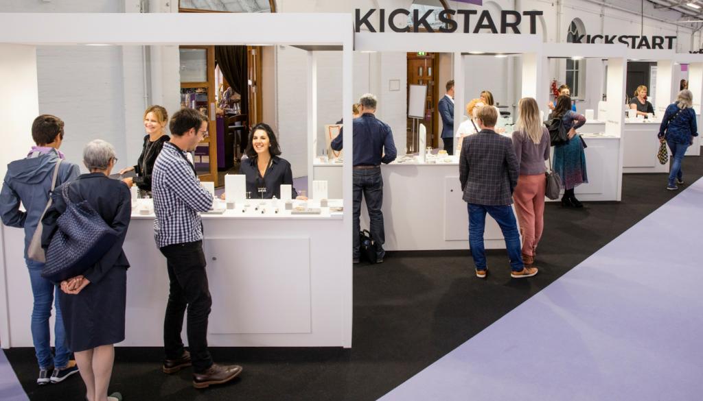 KickStart stand at IJL 2017