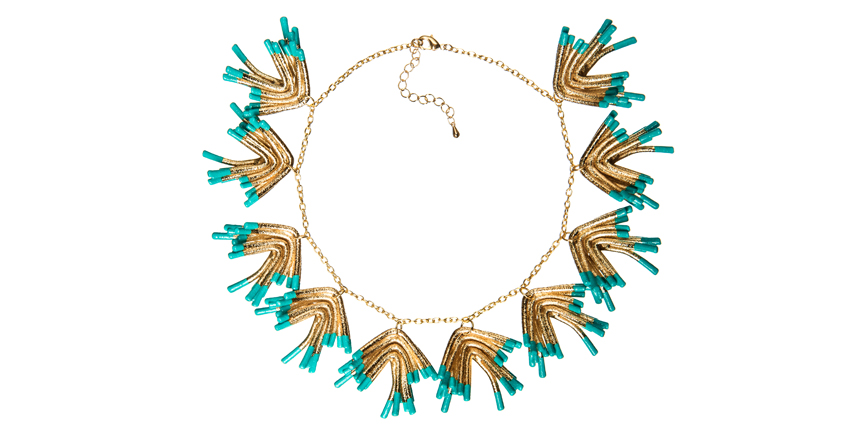 Sylvie Mini Statement Necklace Oddical RRP£510