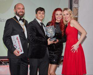Victoria Louise Luxy Quartermaine NAJ Awards 2017