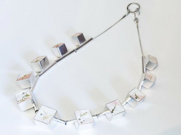 Amy Stringer Geometric Necklace Bright Young Gems