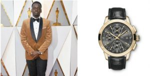 Daniel Kaluuya in IWC Ingenieur Chronograph Watch (Image Credit: Getty Images)