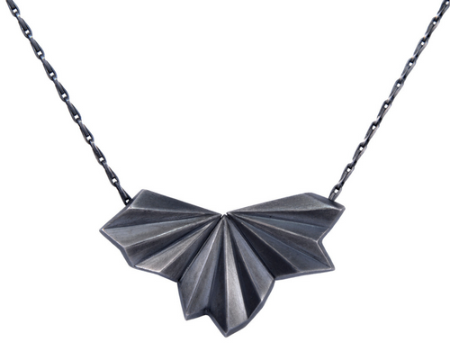 Pleated Necklace by Alice Barnes KicKStart 2017