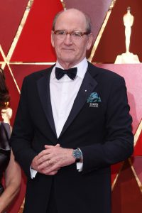 Richard Jenkins in IWC Portofino Hand-Wound Eight Days (Image Credit: Getty Images)