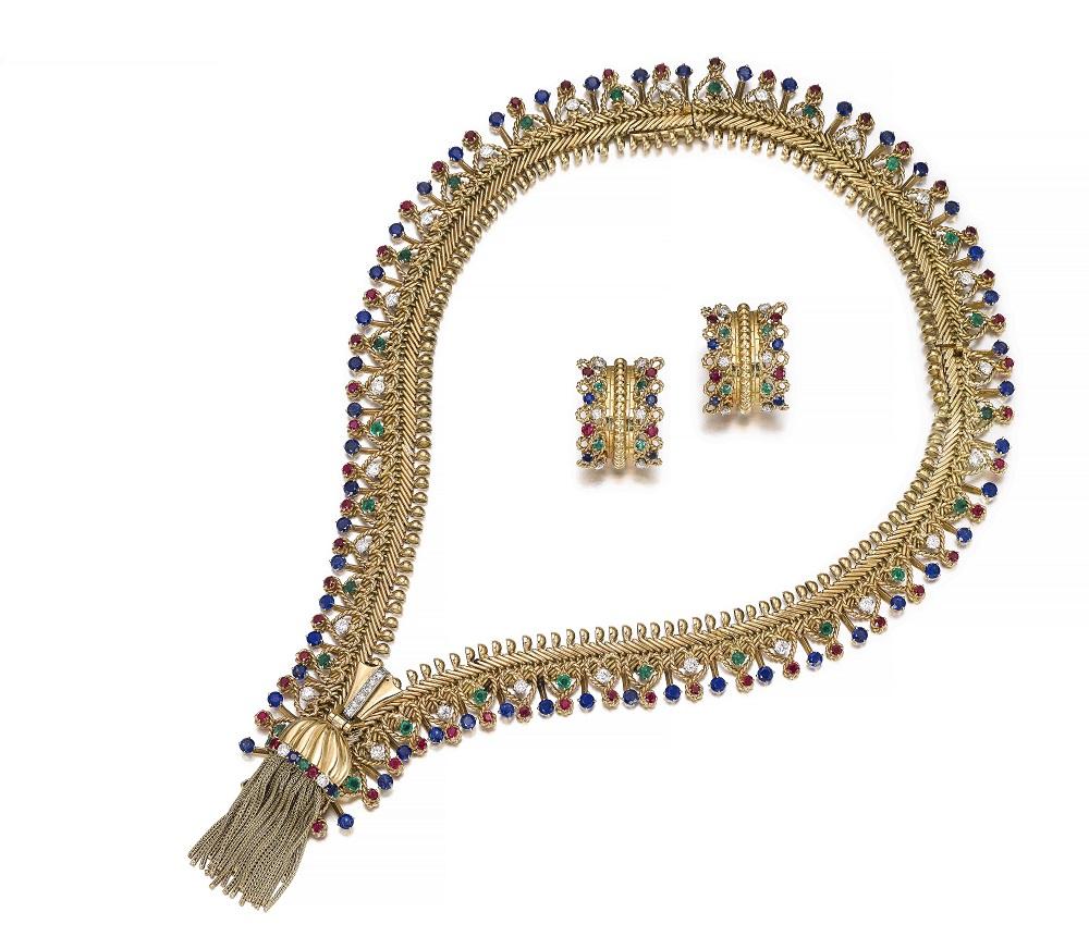 Van Cleef and Arpels Zip Sotheby's Geneva Auction May 2018