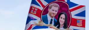 Meghan Markle and Prince Harry Bridal Jewellery Trends - British Flag Waving in the Wind