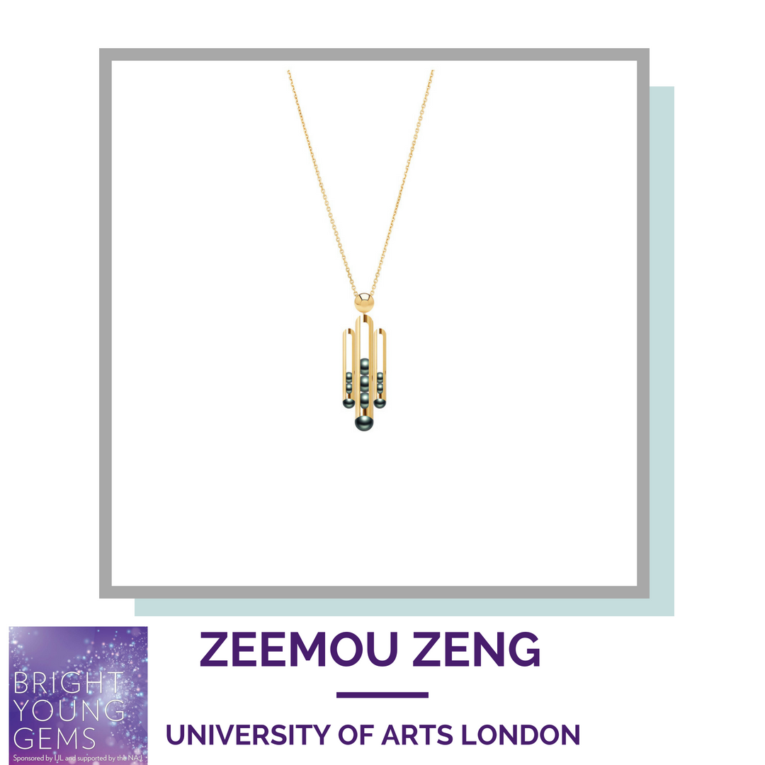 Zeemou Zeng University of the Arts London Bright Young Gems 2018