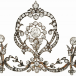 Lot 14 - Diamond tiara, circa 1905