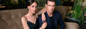 Unique & Co Model Image - Man and woman wearing fashion jewellery