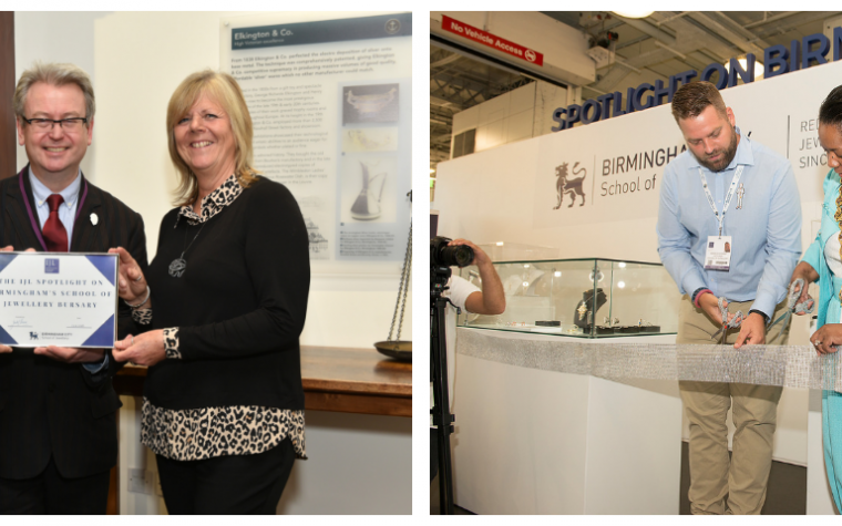 The IJL Spotlight Shines on Birmingham's School of Jewellery Bursary