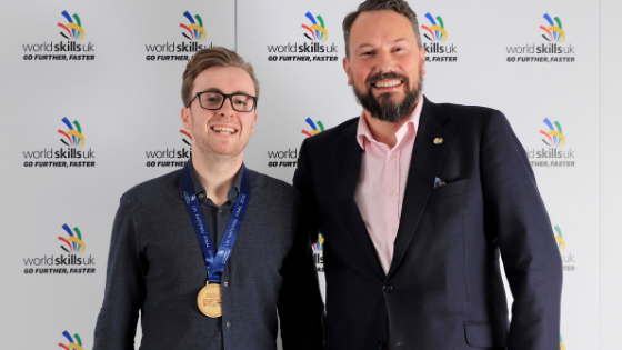 Goldsmiths' company diamond mounting apprentices top the medals table at Worldskills UK Live 2018