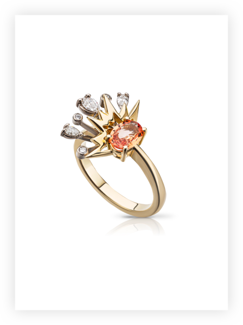Sun Burst Ring; £2,400
