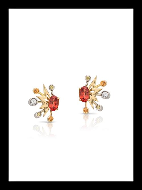 Zadie Earrings; £1,500