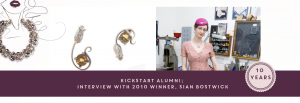 KickStart Alumni: Interview with 2010 Winner, Sian Bostwick