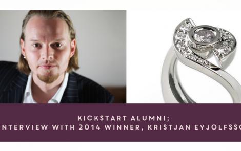 KickStart Alumni: Interview with 2014 Winner, Kristjan Eyjolfsson