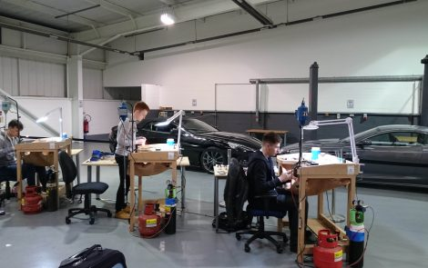 Sam McMahon Selected to Represent UK Jewellery Skills in the 'Olympics of Skills' in Russia!