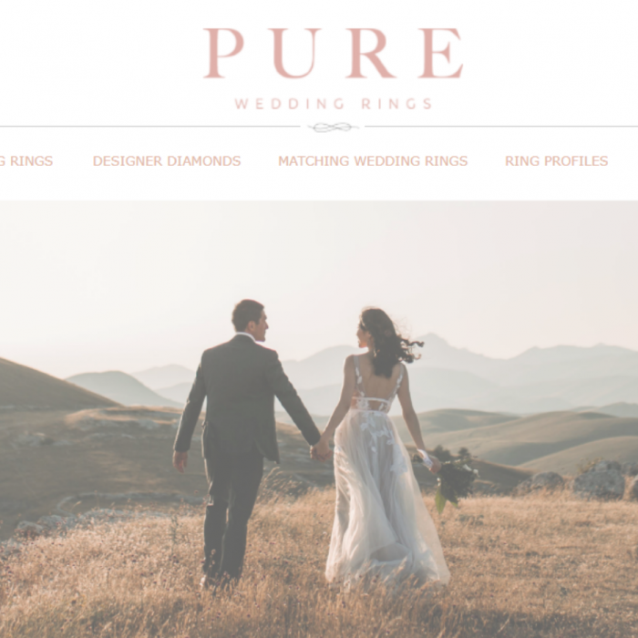 Hockley Mint revamps Pure Wedding Rings brand with new sample box and customer-facing website