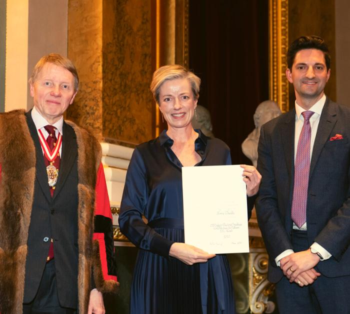 Sonia Cheadle Wins This Year's IJL Award